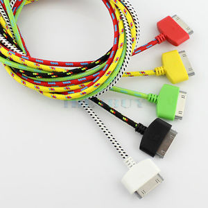 iPhone 4s fabric braided usb cable