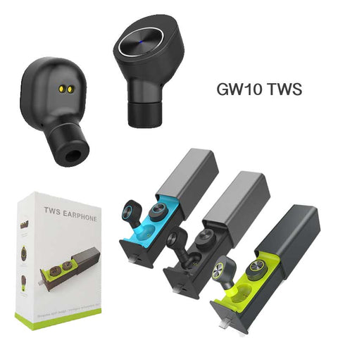 Image of GW10 TWS Earbuds Bluetooth 4.2 with charging case