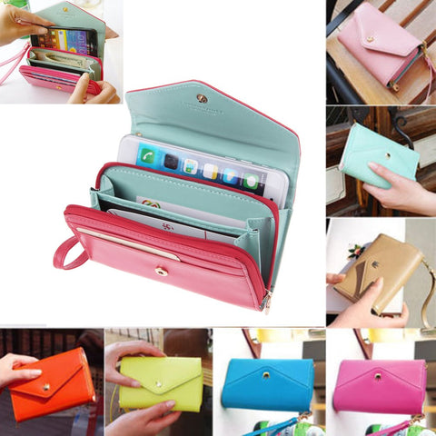 Image of Wholesale Cute leather wallet purse phone case cover pouch bulk lots