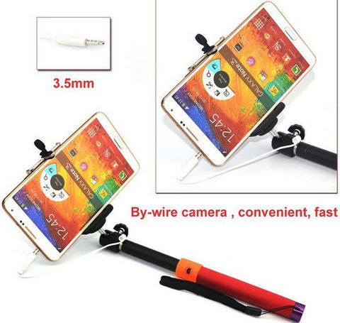 Image of best extendable selfie stick for samsung galaxy note android