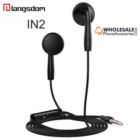 Image of wholesale factory china supplier langsdom earphones IN2 cheap price ditributor
