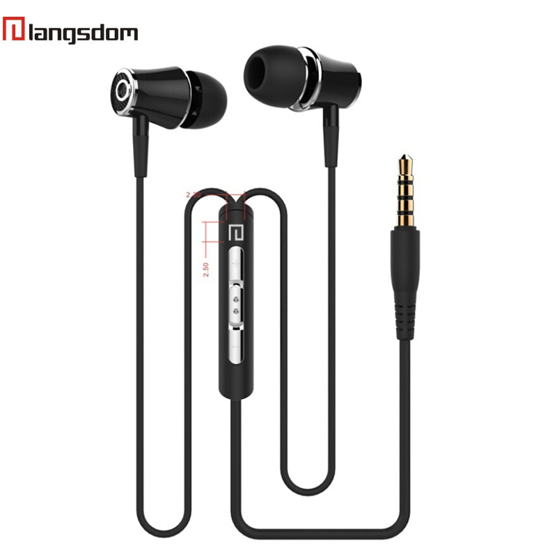 China Wholesale langsdom earphones e2  Factory Supplier Cheap Price Distributor