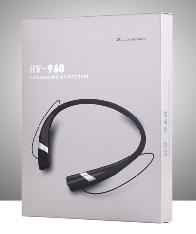Image of Hv-960 Sweatproof Earbuds for Bluetooth Devices Wireless Headphone Neckband Headsets Sport Cheap China