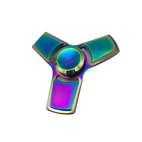 Image of Wholesale China Antistress Chromeplated Fidget Tri Spinner Bulk Dealer
