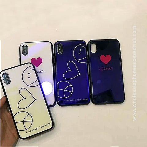 China Supplier Heart Series1 Case for iPhone X Cheap Price Wholesale USA Distributor Factory Bulk Lots Manufacturer