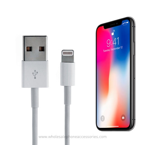 Image of China Supplier best quality oem usb cable for iPhone iPad bulk  lots wholesale supplier Cheap Price Wholesale USA Distributor Factory Bulk Lots Manufacturer