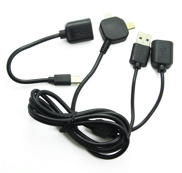 usb otg sunc and charge cable multifunction