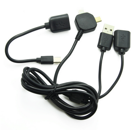 Image of usb otg sunc and charge cable multifunction