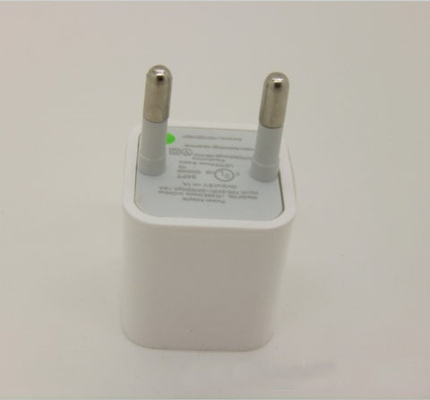 Wholesale EU standard OEM iPhone wall travel home charger adapter