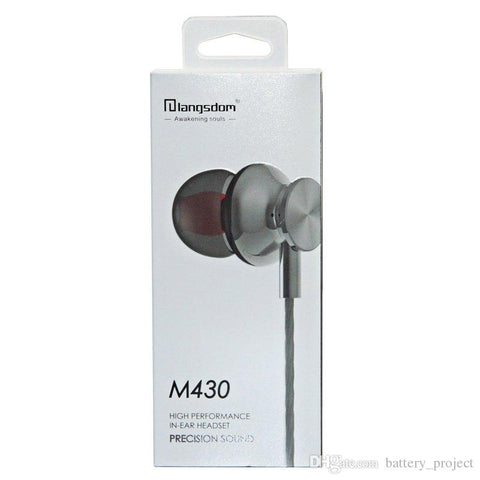wholesale factory china supplier langsdom earphones m430 cheap price ditributor