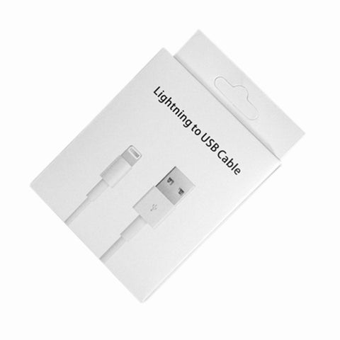Image of Paper box packaging for iphone usb cable android Type c cable