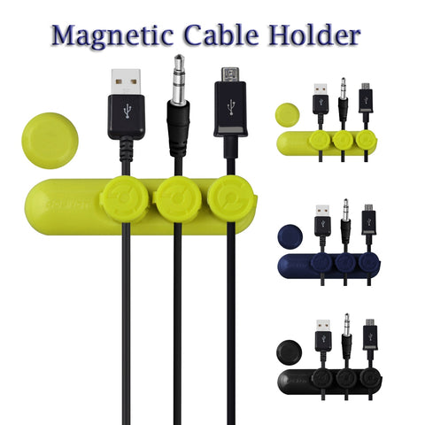 Image of China Wholesale Goshot Magnetic Cable Organiser Holder Clip Bulk Lots
