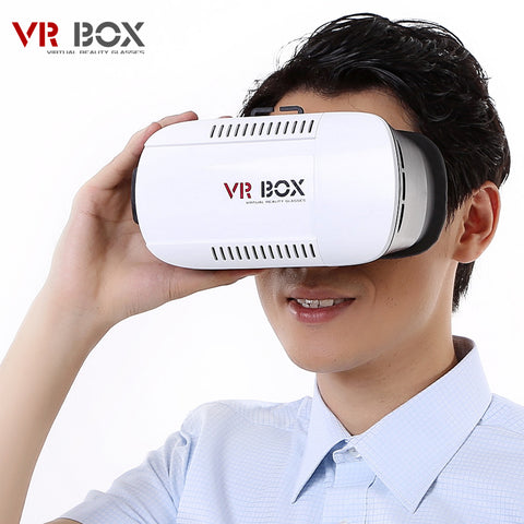 Image of Wholesale VR BOX Virtual reality headset 3d glasses google cardboard