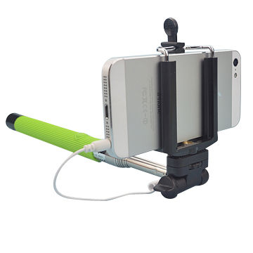 Wholesale wired selfie stick for iPhone