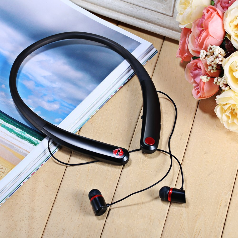 Wholesale China HV990-Bluetooth-Headsets-Sport-Wireless-Earphone-Magnetic Suction-Headphone-for-Phone-with-Microphone-Stereo-Earphones-for-Samsung Bulk Shipping