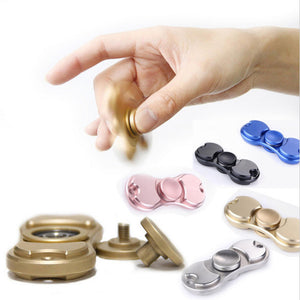 Metal Fidget Hand Spinner Titanium Alloy Brass High QUality Anti Stress Toy