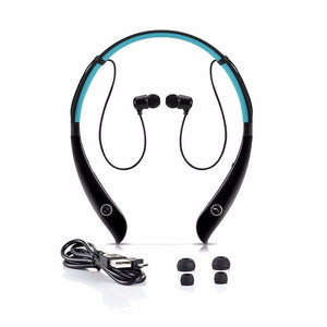 HV-930 Sport Wireless Stereo Bluetooth 4.0 Music Earphone Stereo Headset Neck-strap Sweat-proof Headphones with Mic
