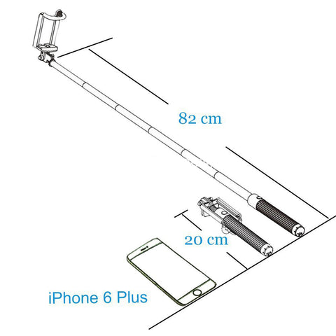 Image of china factory wholesale selfie sticks