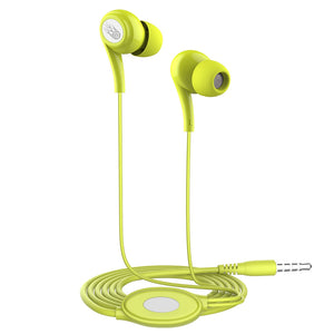 Langsdom JD91 Stereo Colorful Earphones Super Bass in Ear Candy Color Earbuds with Mic in Retail Packaging