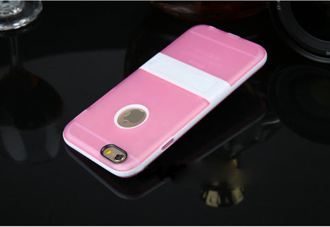 Image of Wholesale Supplier OEM Tpu hybrid stand case Bulk lots Cheap price 6