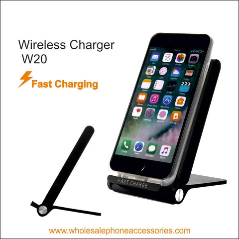 Image of Wholesale China Factory Supplier Wireless Charger W20 Cheap Price usa Distributor