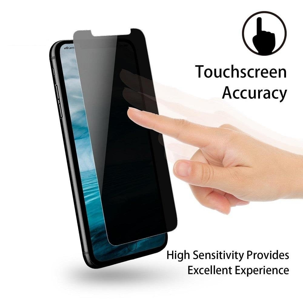 China Wholesale iPhone X Anti Spy Privacy Tempered Glass Screen Protector CHeap Factory Price Supplier Bulk Lots USA Distributor4