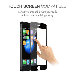 4D Curved Full Tempered Glass Screen Protector For Apple iPhone X 8 7 6 s Plus