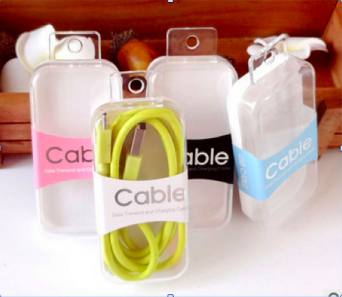Retail Packaging for USB Cables