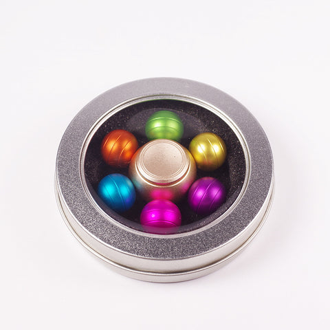 Image of Wholesale Supplier metal rainbow fidget spinner china