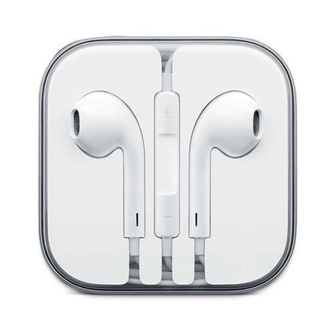 Image of white earphones for ipod