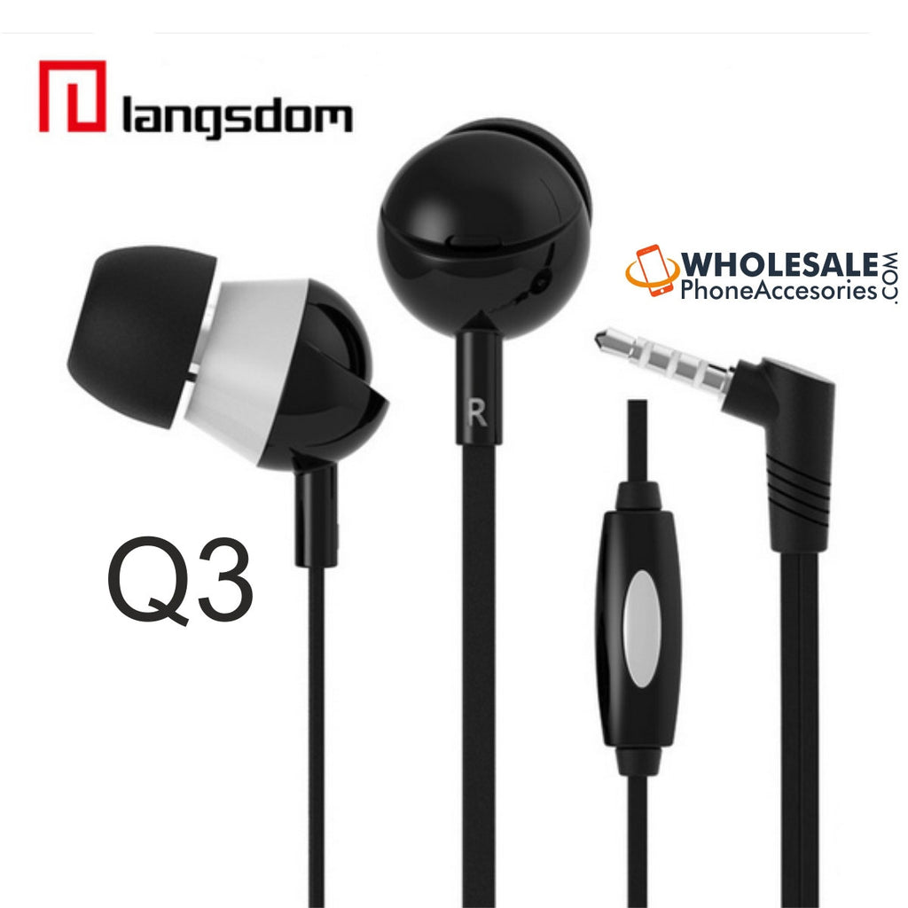 wholesale factory china supplier langsdom earphones q3 cheap price ditributor