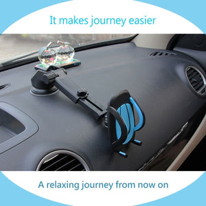 Universal Dashboard Car Phone Mount Holder [EXTENDABLE] for iPhone Samsung Google, LG, Huawei HTC