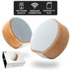 A60 Portable Wood Grain Wireless Speaker