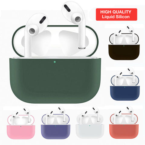 Image of Airpods Pro Liquid Silicone Case Cover [HIGH QUALITY]