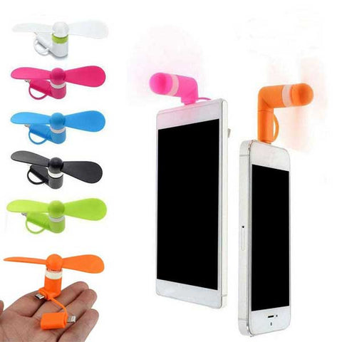 OTG Fan for Smart phones USB Powerbank Travel Gift