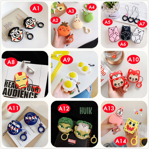 3D Cartoon Cases for AirPods i12 inPods™ [Series #2 - 71 Designs]