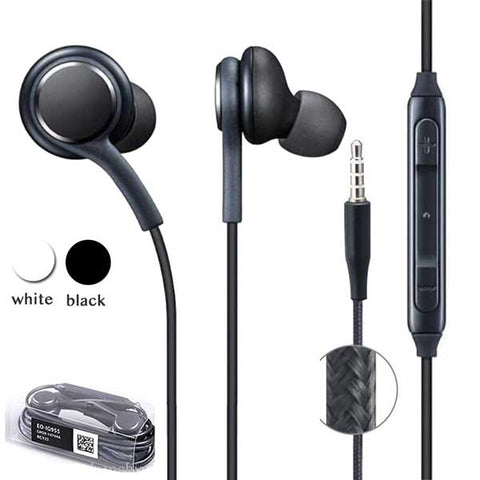 Universal S8 earbuds with Volume control & Mic for Samsung HTC