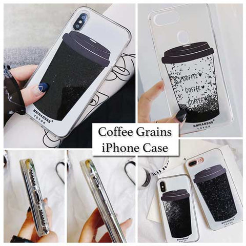 Quicksand Liquid Coffee iPhone Samsung Case Cover[All Models]