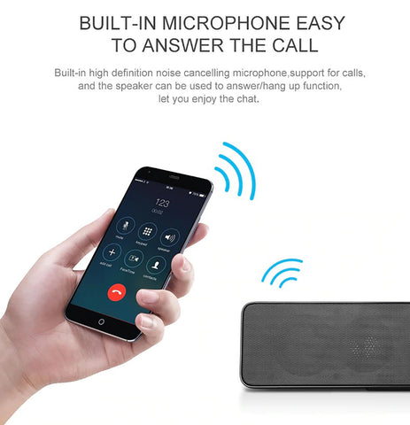 Image of NBY 5530 Portable Bluetooth Speaker Stereo Wireless Speaker With Enhanced Bass Microphone
