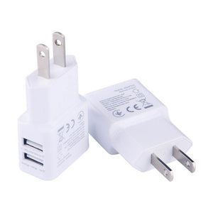 2A 5V Dual USB Port Wall Charger Home Adapter plug for Samsung HTC Android