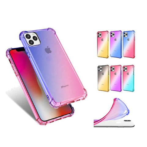 Shockproof Gradient Color Phone Case