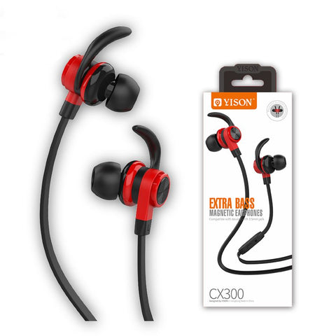 Yison CX300 Wired Sports Earbuds with Mic