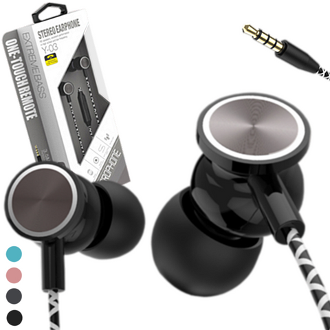 Luhe™ Y03 Universal Earphones with Mic