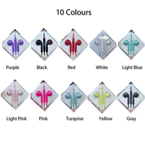 Image of New Universal Earbuds for iPhone Android with Volume control & Mic