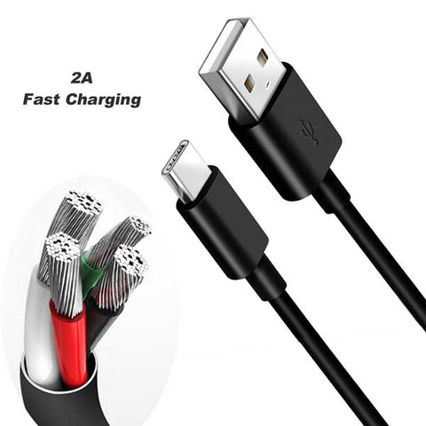 2A Fast Charging Type C USB 3.1 Cable Charger