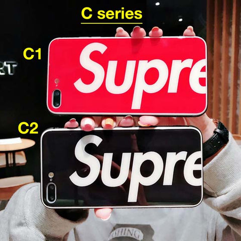 Image of Supreme iPhone Case Glass back [3 designs]