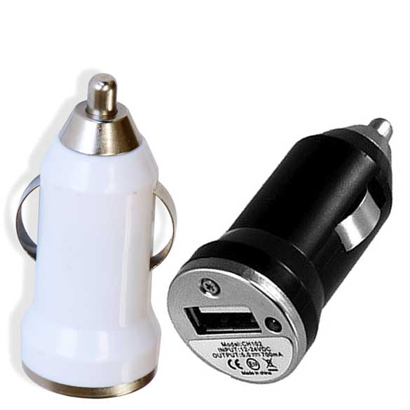 Mini USB Car Plug Charger 1A Single USB