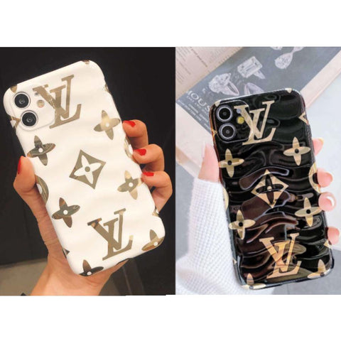 Image of TPU Electroplated Brand Name iPhone Cases