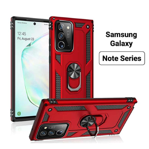 Image of Samsung Galaxy Note Hybrid Ring Stand Case