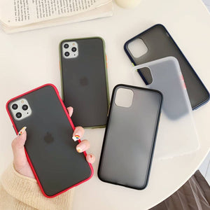 👌 Frosted Protective Case Cover for iPhone [10 colours]